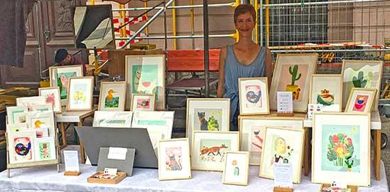 Berliner Kunstmarkt am Zeughaus 08/18