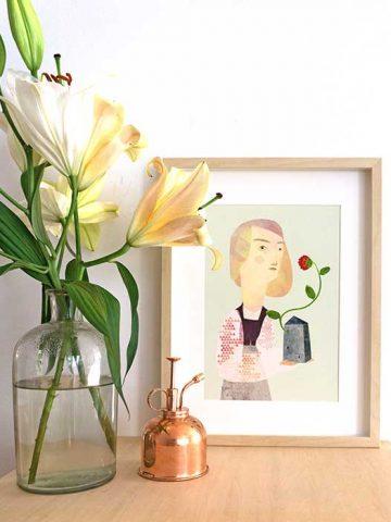 Blühendes Haus 1