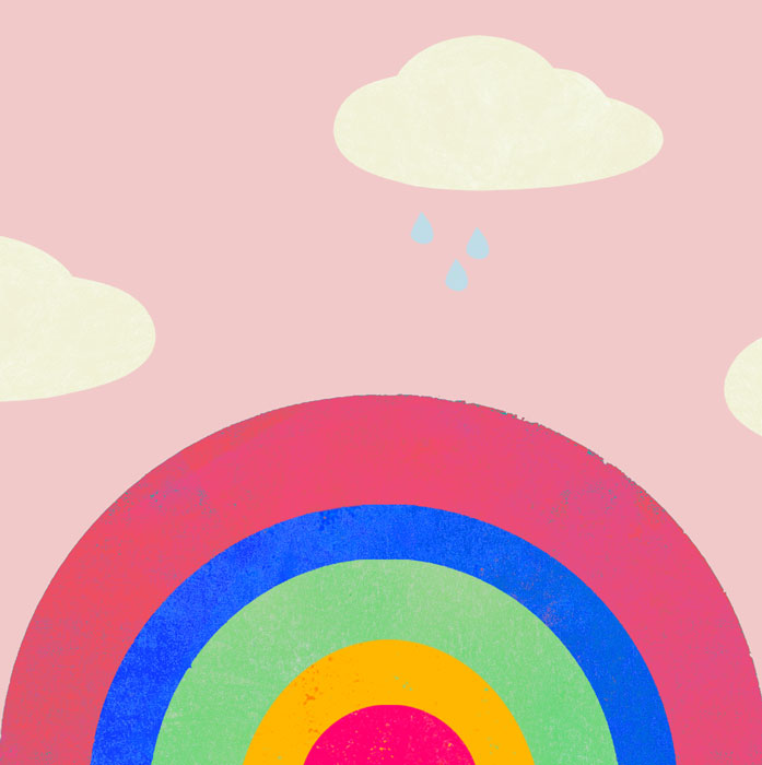 Regenbogen - Limitierte Edition Kunstdruck