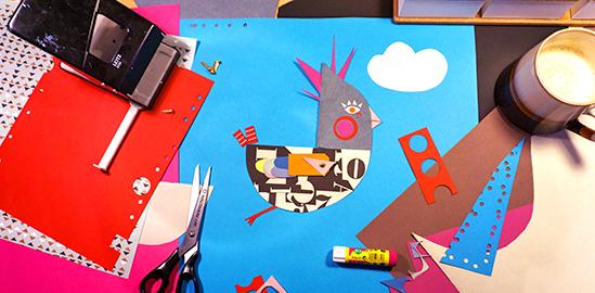 Vogel Collage Blog